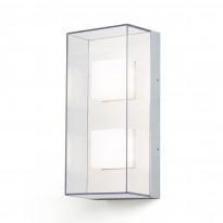 LED-seinävalaisin Konstsmide Sanremo 7936-310, 140x110x310mm, alumiini/kirkas