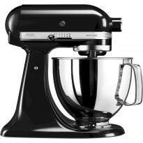 Yleiskone KitchenAid Artisan 5KSM125, 4,8 l, musta