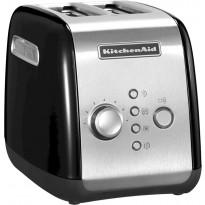 Leivänpaahdin KitchenAid 5KMT221, kahdelle viipaleelle, musta