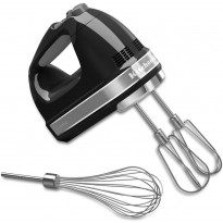 Sähkövatkain KitchenAid 5KHM7210, 7-nopeuksinen, musta