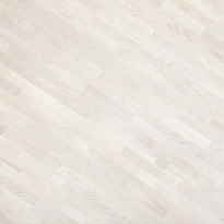 Parketti Kymppi-Lattiat Tammi Classic 3-säleinen, valkoinen mattalakka, 14x192x2200mm, myyntierä 17,74m², Verkkokaupan poistotuote