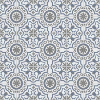 Kuviolaatta Kymppi-Lattiat History Jugend Alhambra Decor, himmeä, 250x250mm