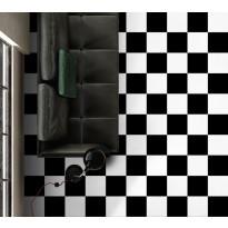 Lattialaatta Kymppi-Lattiat History Jugend Basic Black, himmeä, 250x250mm