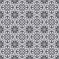 Kuviolaatta Kymppi-Lattiat History Jugend Edinburgh Black, himmeä, 250x250mm
