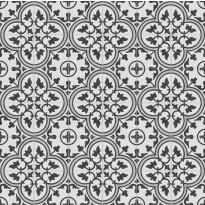 Kuviolaatta Kymppi-Lattiat History Jugend Edinburgh Grey, himmeä, 250x250mm