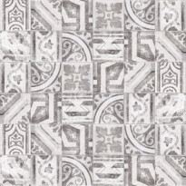 Kuviolaatta Kymppi-Lattiat History Jugend Firenze Mix, himmeä, 250x250mm