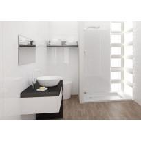 Seinälaatta Kymppi-Lattiat Pure White Glossy, kiiltävä, 300x600mm