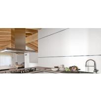 Seinälaatta Kymppi-Lattiat Pure White Matte, matta, 300x600mm, rektifioitu
