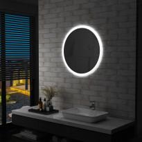 Kylpyhuoneen led-peili 70 cm