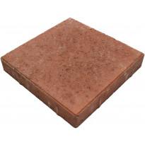 Betonilaatta Lujabetoni, 300x300x50mm, punainen