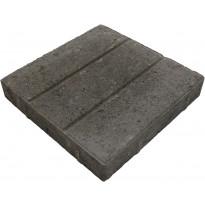 Urallinen betonilaatta Lujabetoni, 300x300x50mm, mustaharmaa