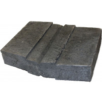 Lohkomuurikivi Lujabetoni, 300x360x70mm, mustaharmaa