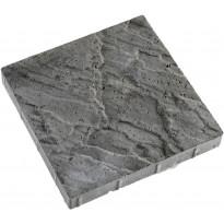 Antiikkilaatta Lujabetoni, 420x420x60mm, harmaa