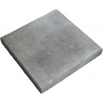 Sileä betonilaatta Lujabetoni, 490x490x60mm, harmaa