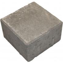 Pihakivi Lujabetoni neliökivi, 140x140x80mm, harmaa