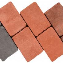 Antiikkikivi Lakka 60 Patina, 178x118x60mm, punainen