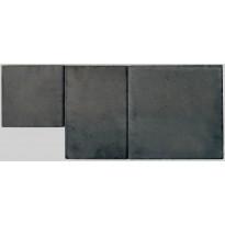 Pihakivi Lakka Roomalainen kivi 80, 418x418x80mm, musta