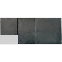 Pihakivi Lakka Roomalainen kivi 80, 208x418x80mm, musta