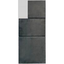 Pihakivisarja Lakka Roomalaiset pienet kivet 80, eri kokoja, musta