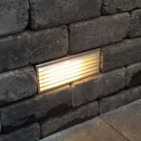 Muurivalaisin Lakka Antiikki LED, 145x170x360mm, Verkkokaupan poistotuote