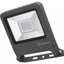 LED-valonheitin Ledvance Endura Flood 30W, 3000K, tummanharmaa