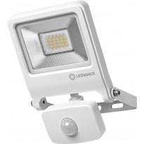 LED-valonheitin Ledvance Endura Flood 20W, 3000K, valkoinen, liiketunnistin
