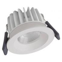 LED-alasvalo Ledvance Spot Fix, 3000K, IP44, valkoinen