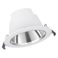 LED-alasvalo Ledvance Comfort DN155, Ø172mm, 3000-5700K, IP54, valkoinen