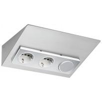 Pistorasia Limente Luxa-31, 30W, 24V LED-virtalähde, kytkin, rst