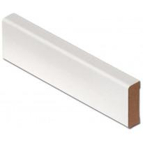 Jalkalista Listatalo MDF, 12x42x3300 mm, valkoinen R2