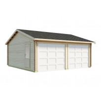 Autotalli Luoman Lillevilla Garage 30, 32,5m², kaksi autopaikkaa