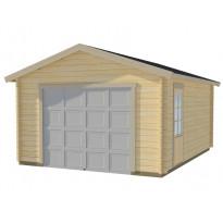 Autotalli Luoman Lillevilla Garage 2 19,9m² yksi autopaikka
