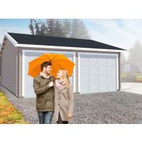 Autotalli Luoman Lillevilla Garage Koski 15 32,5m² kaksi autopaikkaa