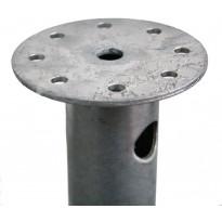 Ruuvipaalu Lektar laipalla, 800x60/3mm