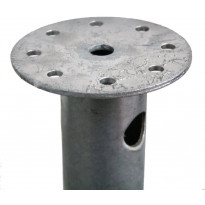 Ruuvipaalu Lektar laipalla, 1150x60/3mm