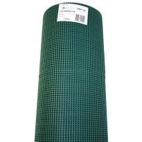 Räystäsverkko, 5 x 5mm, 1 x 25m, vihreä
