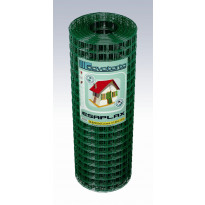 Esaplax-verkko, PVC, 500mm, 12,7mm, 0,9/1,4mm, 25m