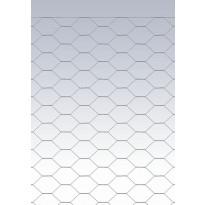 Kuusikulmaverkko, 40 x 40 x 1,2mm, 2000mm x 50m