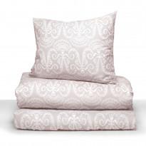 Parivuoteen pussilakanasetti Lennol Milja, 205x225cm, roosa
