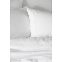 Tyynyliina Lennol Satiini Sateenkaari, 60x80 cm, valkoinen