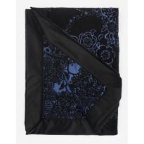 Torkkupeitto Lennol Blackbird, 125x170cm, musta-sininen