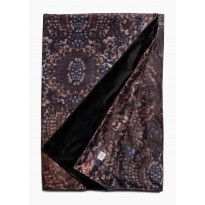 Torkkupeitto Lennol Roma, 125x170cm, monivärinen, musta Melanie-vuori