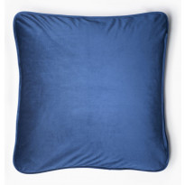 Samettityyny Lennol Melanie, 50x50cm, sininen