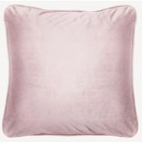Samettityyny Lennol Melanie, 50x50cm, vaalea roosa