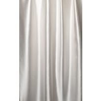 Sivuverho Lennol Claudia, 140x260cm, valkoinen, taustalenkeillä