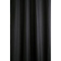 Sivuverho Lennol Elviira, 140x260cm, tummanharmaa, purjerenkailla