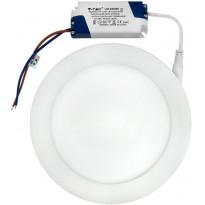 LED-paneeli V-TAC 12W pyöreä 170 mm, 3000 K