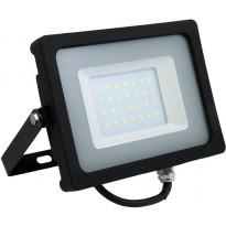 LED-valonheitin V-TAC 30W 4000 K, 2550 lm musta