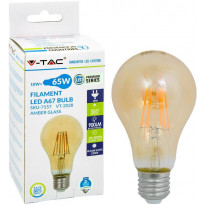 LED-polttimo V-TAC 10W E27 2700 K, 900 lm, A67, meripihka