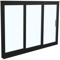 Terassin liukulasi-ikkuna Landskap Robust, 2 lasia, 3 osaa, eri kokoja, eri värejä